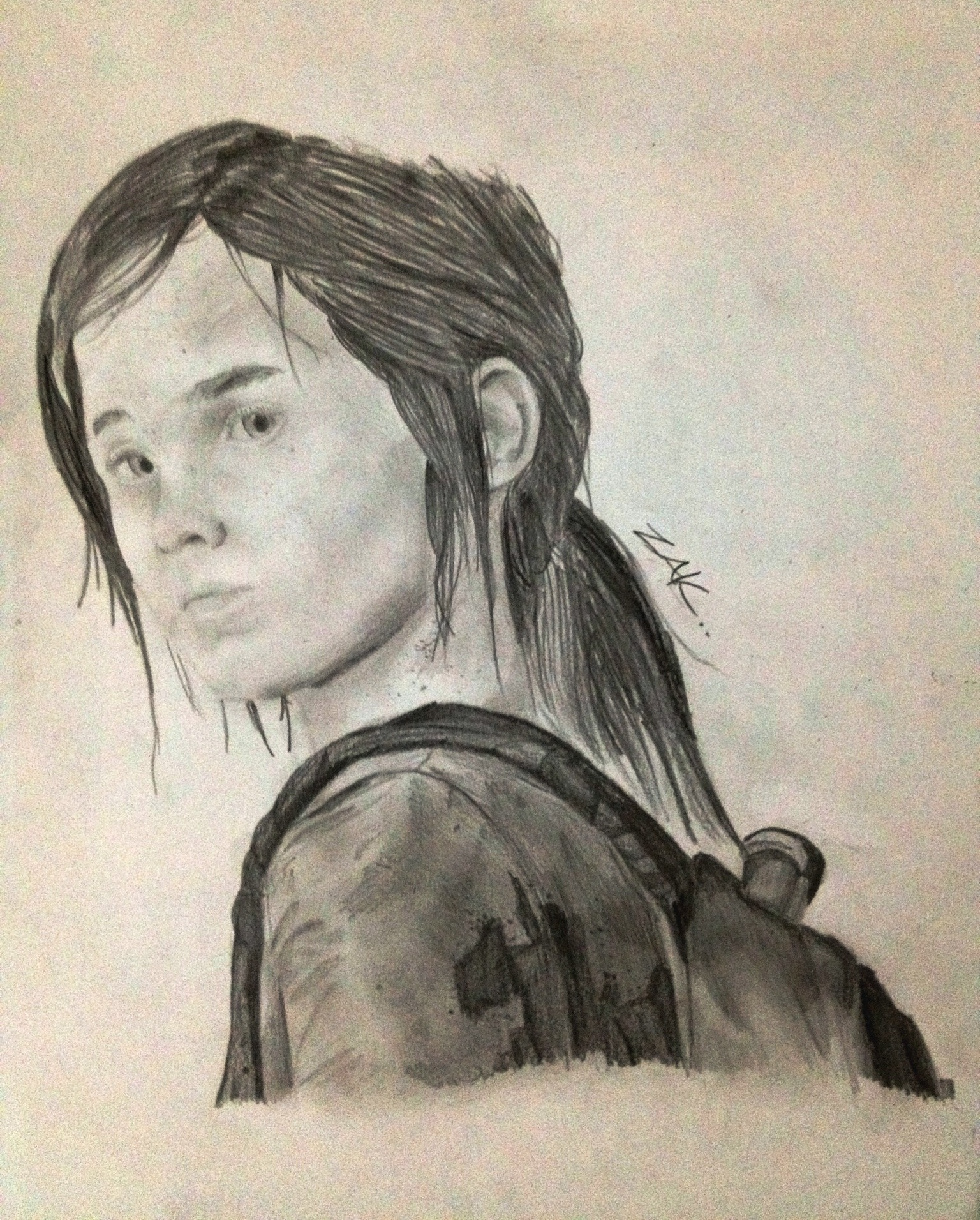 The Last Of Us- Ellie by zakValkyrie