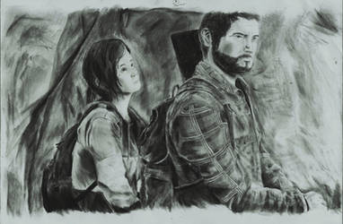 The Last Of Us-Ellie and Joel by zakValkyrie