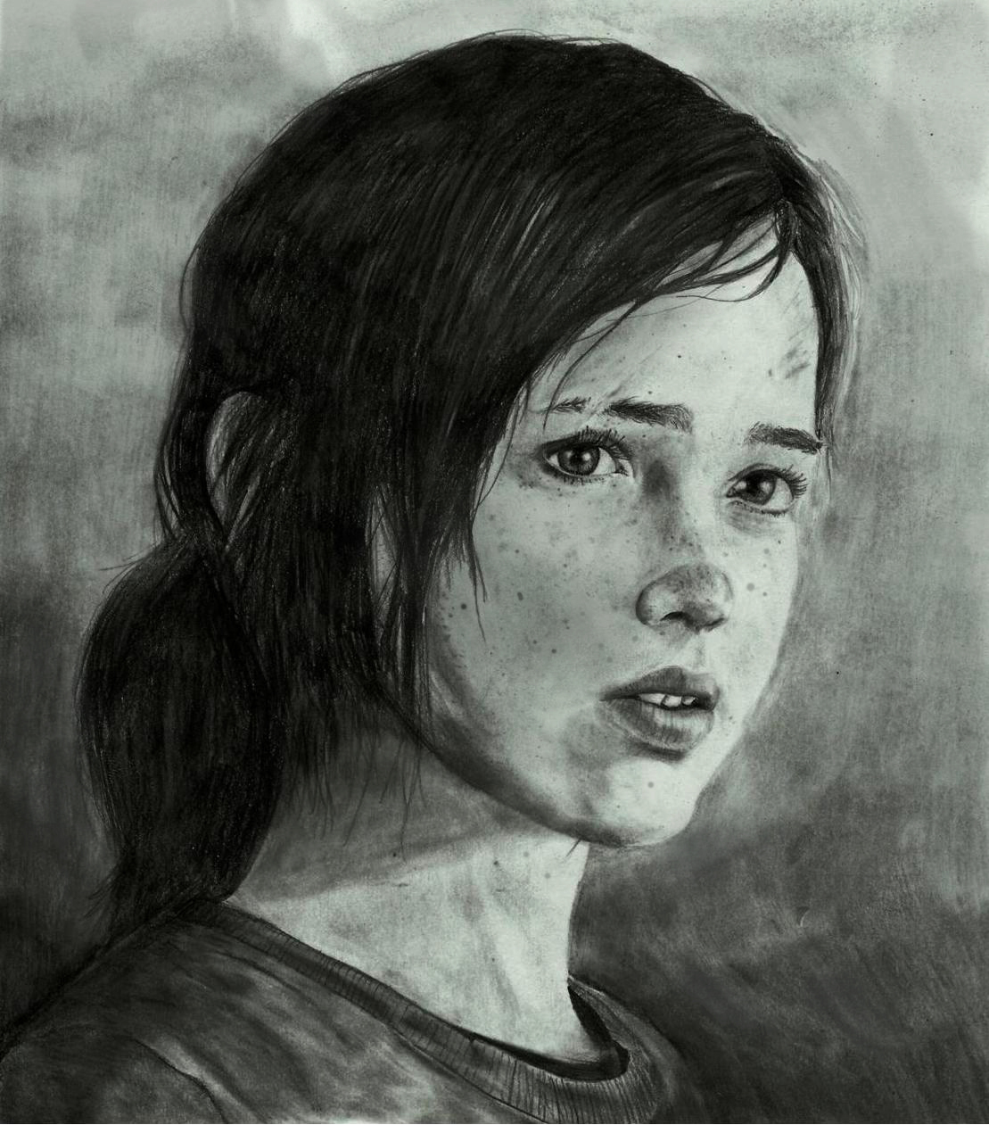 The Last Of Us -ELLIE by zakValkyrie