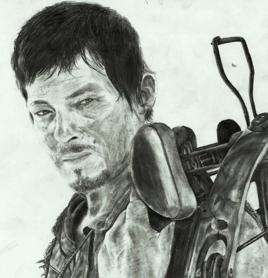 The Walking Dead- Daryl Dixon by zakValkyrie