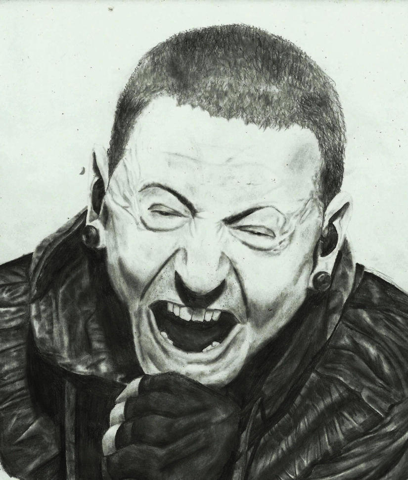 Chester Bennington by zakValkyrie