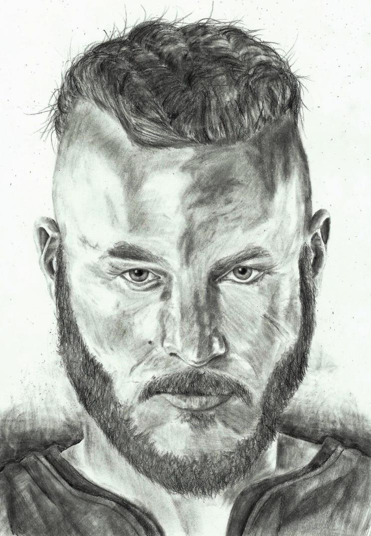 Ragnar Lothbrok Drawing By ZakValkyrie On DeviantArt
