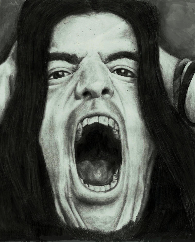 Machine head- robb flynn drawing by zakValkyrie