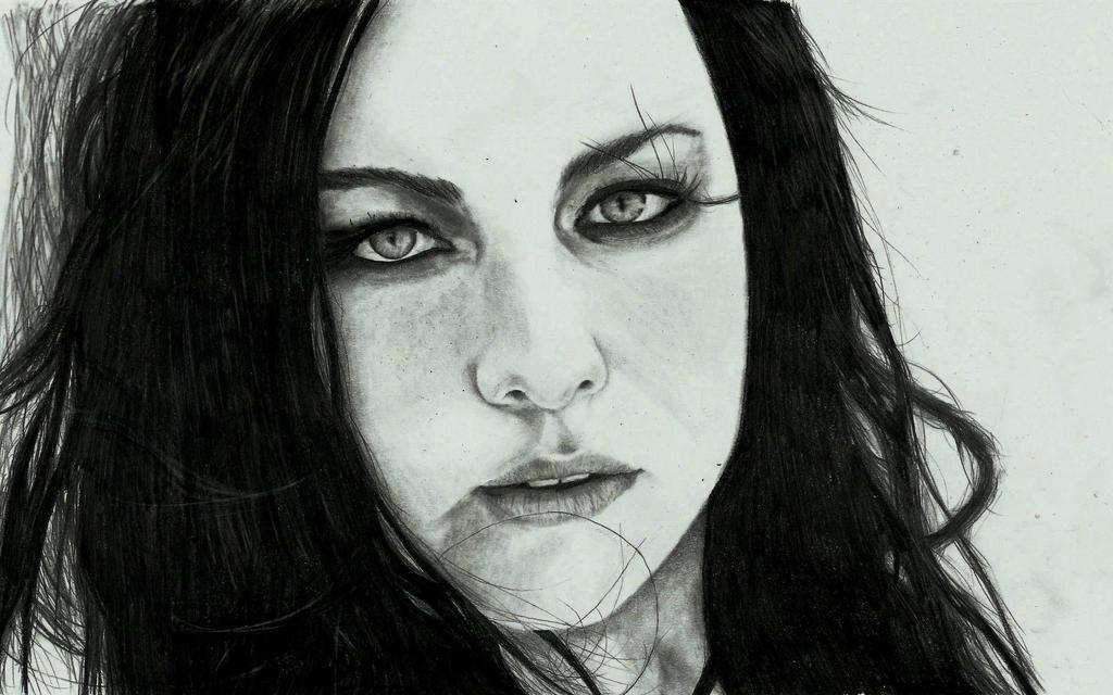 Evanescence-Amy lee by zakValkyrie