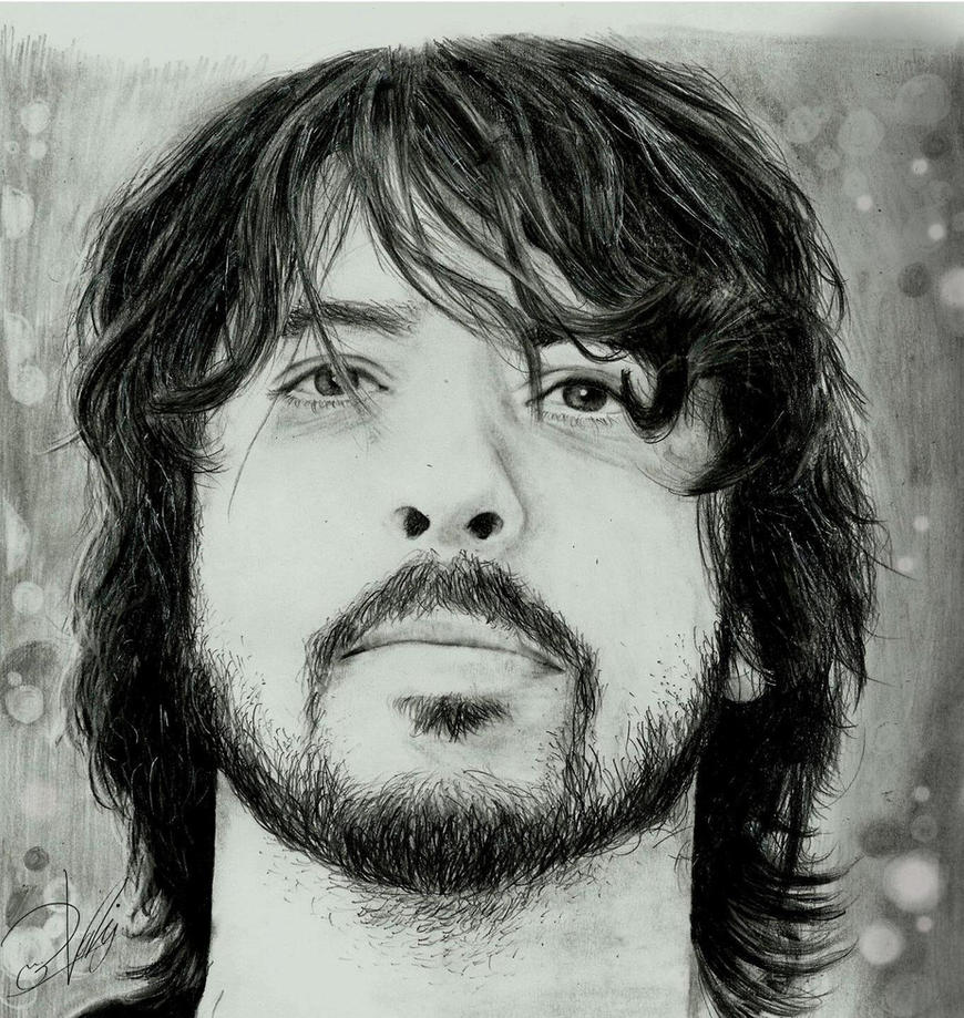 Dave Grohl-Foo Fighters by zakValkyrie
