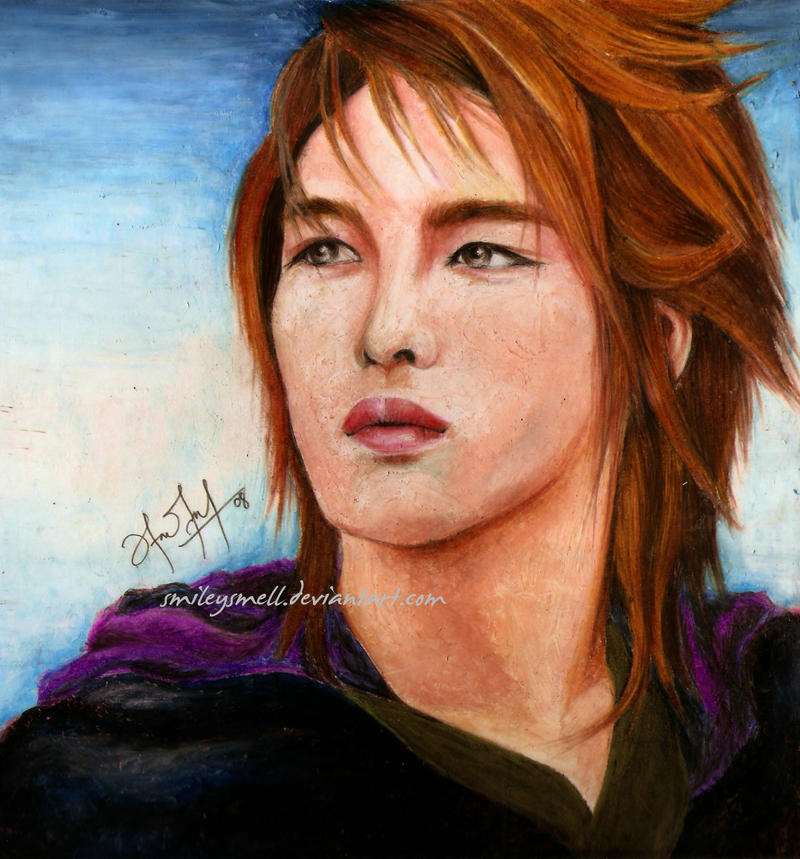 Young Woong jaejoong by smileysmell