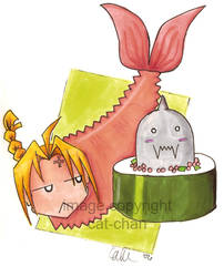 Shrimp by cat-chan
