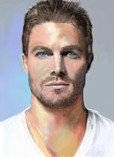 how to draw oliver queen