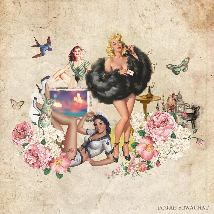 Vintage Collage by potaexo on DeviantArt