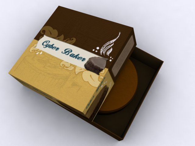 Cake Packaging View 1