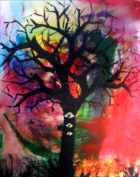 tree with eyes by biotwist