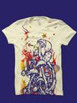 mushroom magic shirt mockup by biotwist