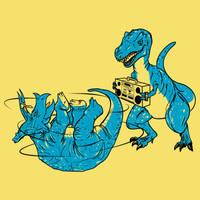Prehistoric B-boys by biotwist