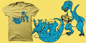Prehistoric B-boys shirt