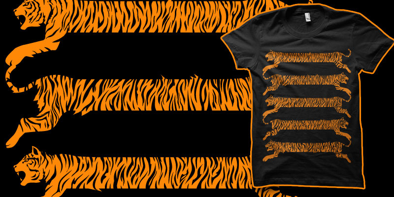 Tiger Stripes shirt by biotwist