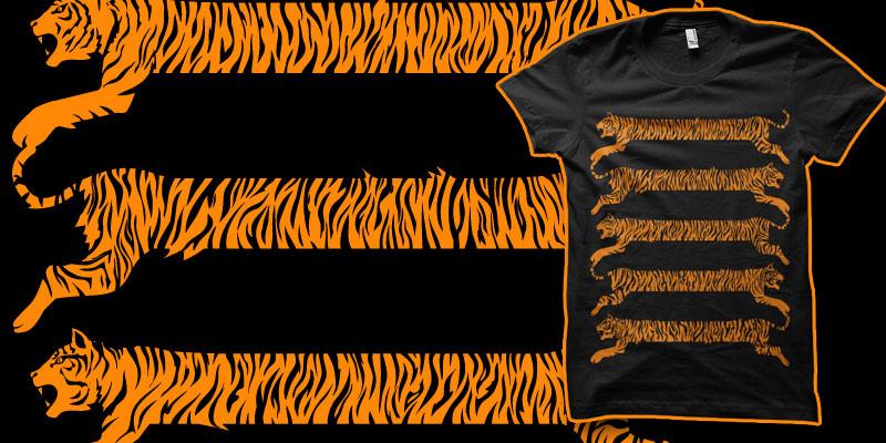 Tiger Stripes shirt by biotwist