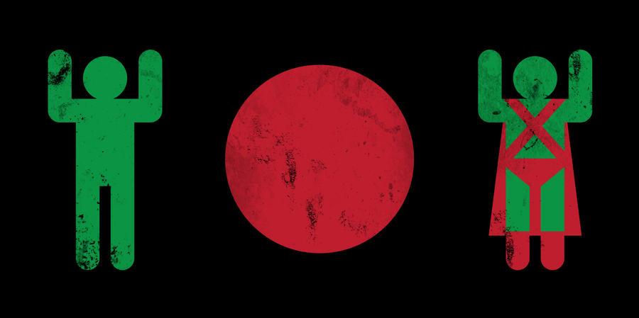 Minimal Martian Manhunter by biotwist