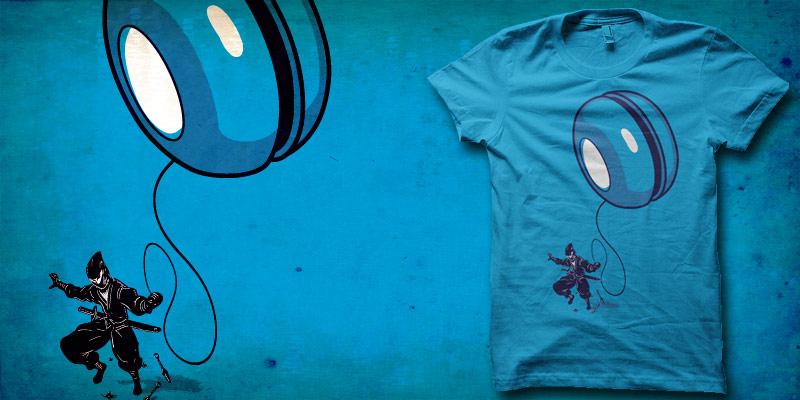 Ninja yo-yo shirt by biotwist