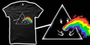 Barf Side of the Moon Tshirt