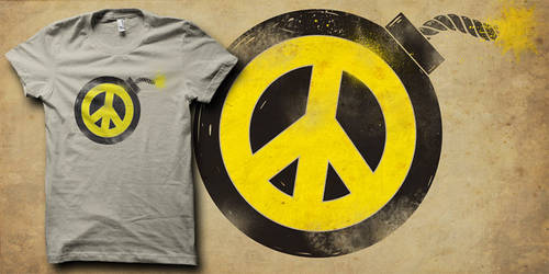 peacebomb shirt by biotwist