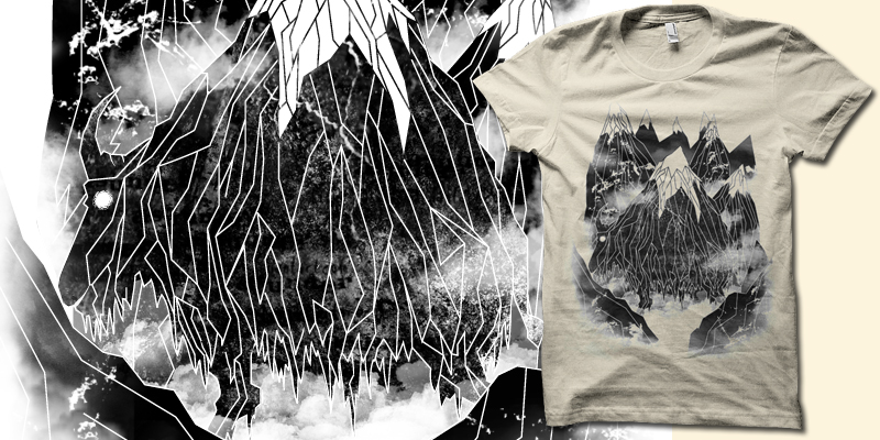 Mountain Goat shirt by biotwist