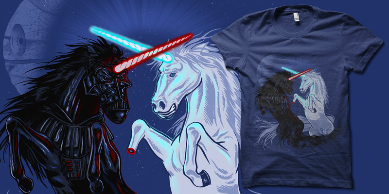 Retold with Unicorns by biotwist
