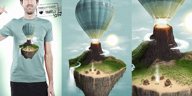 Great Tropical Escape shirt by biotwist