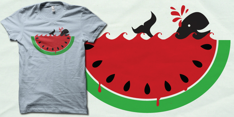 Watermelon v3 shirt by biotwist