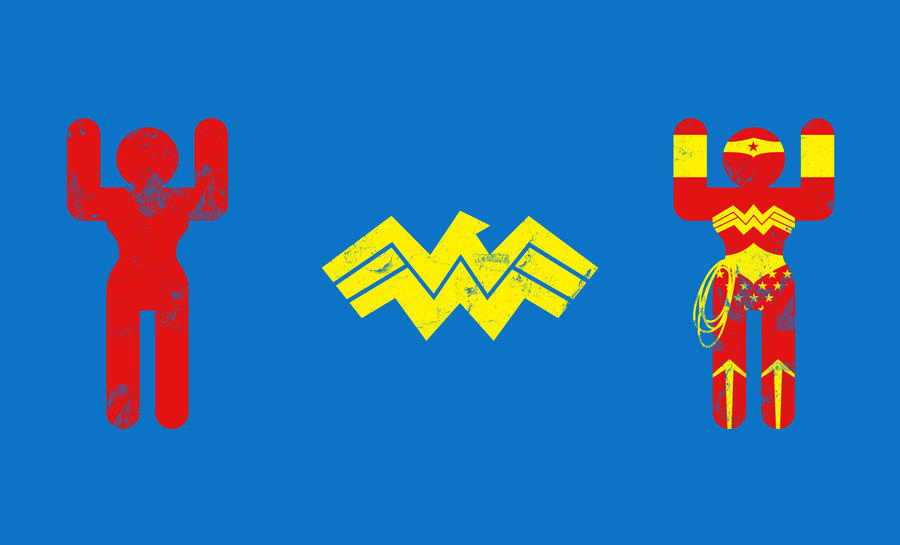 Minimal Wonder Woman by biotwist