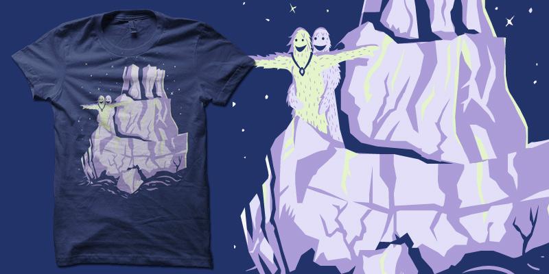 Tanic Yeti tshirt by biotwist