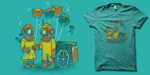 Balloonfish Vendor t-shirt