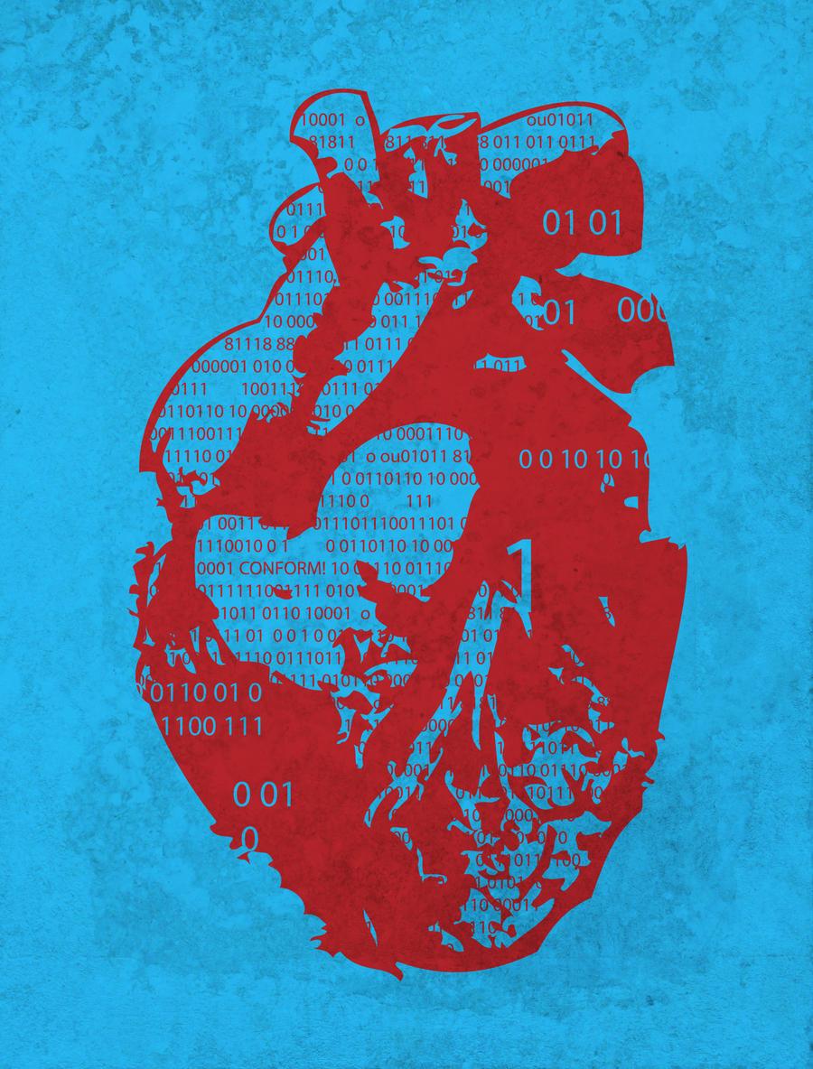 Binary Heart by biotwist