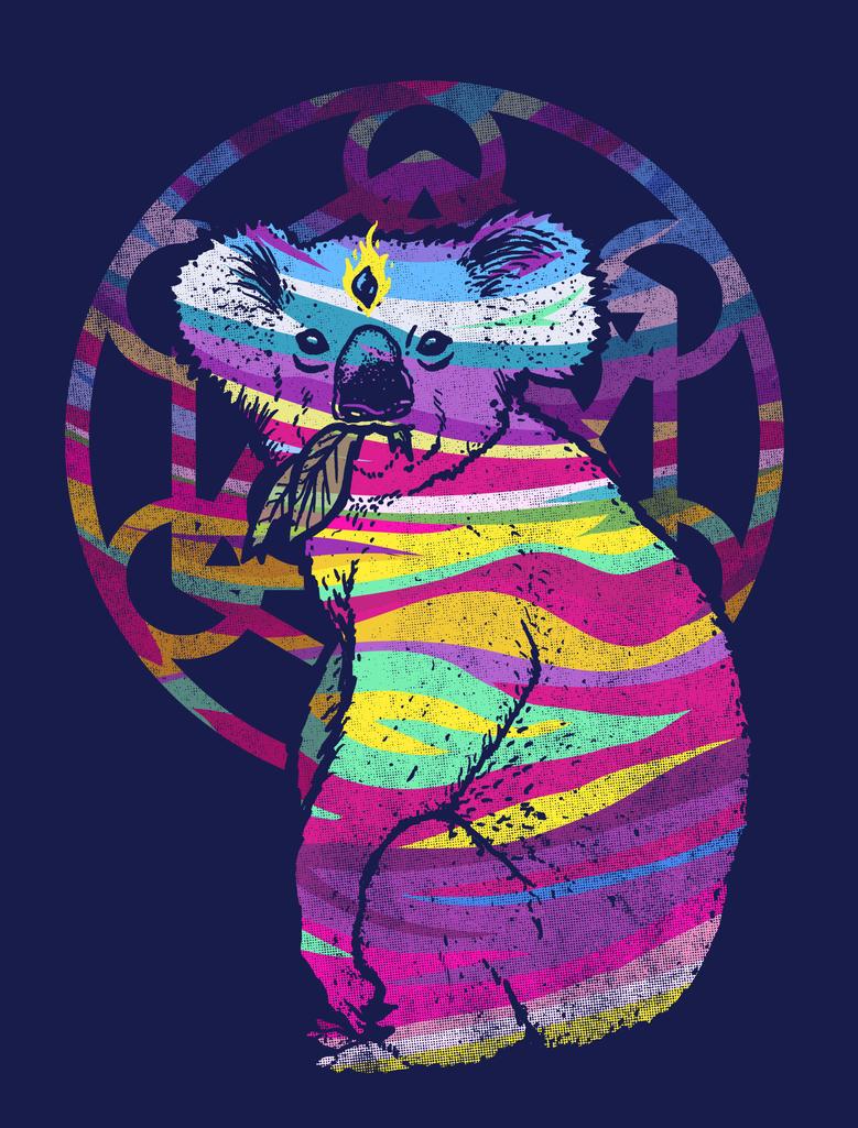 Enlightened Koala by biotwist