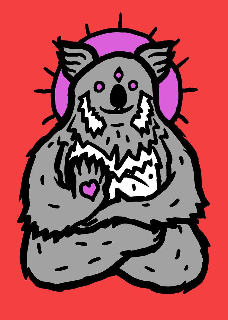 spirit Koala by biotwist