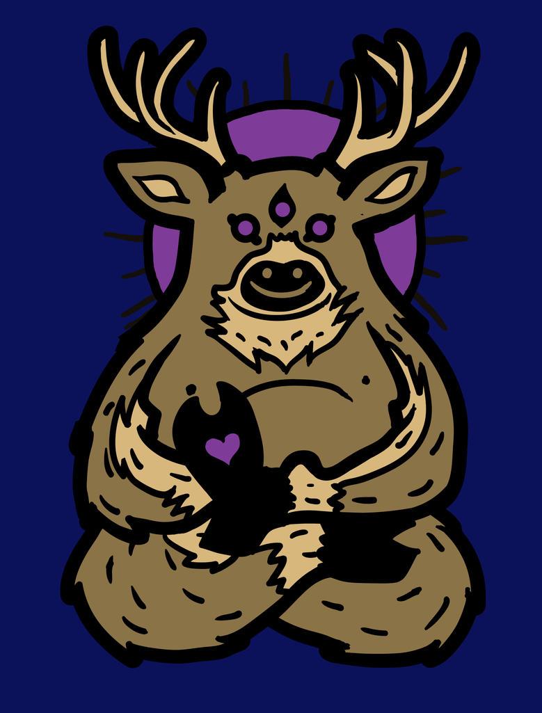Spirit Deer by biotwist