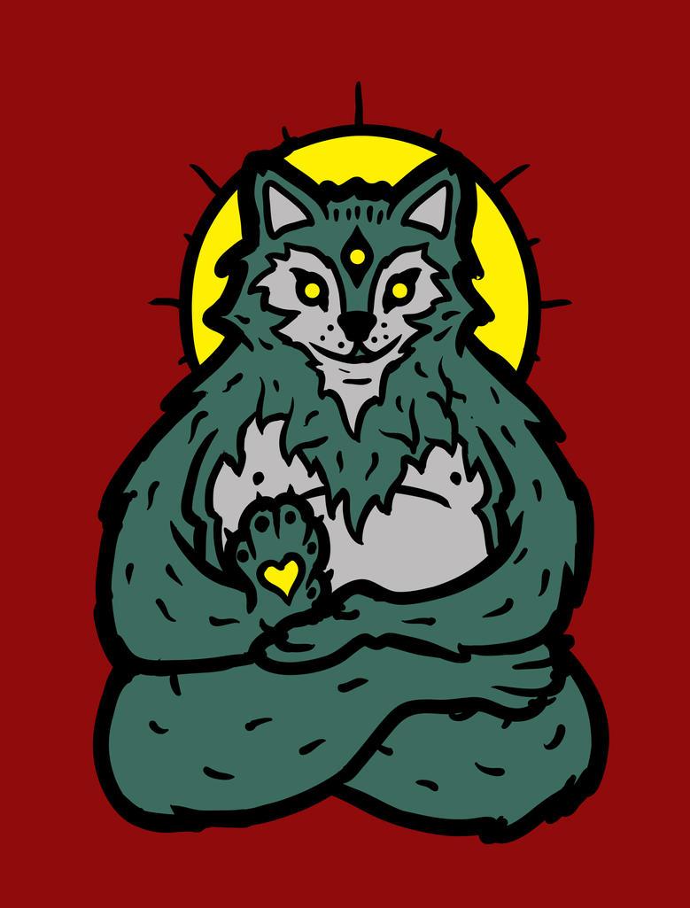 Spirit Wolf by biotwist