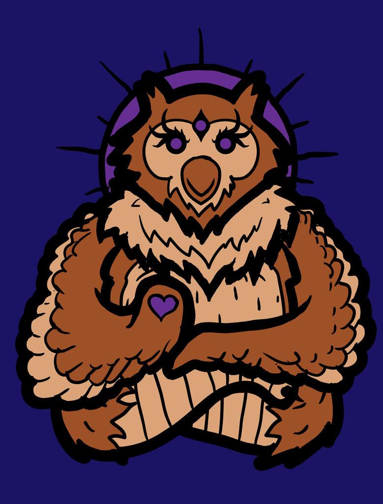 Spirit Owl by biotwist