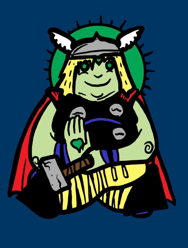 Spirit Animal: Thor by biotwist