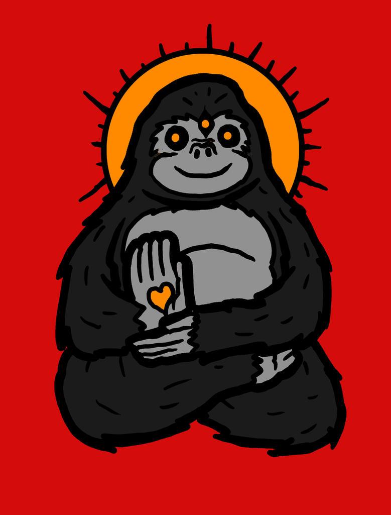 Spirit Animal: Gorilla by biotwist