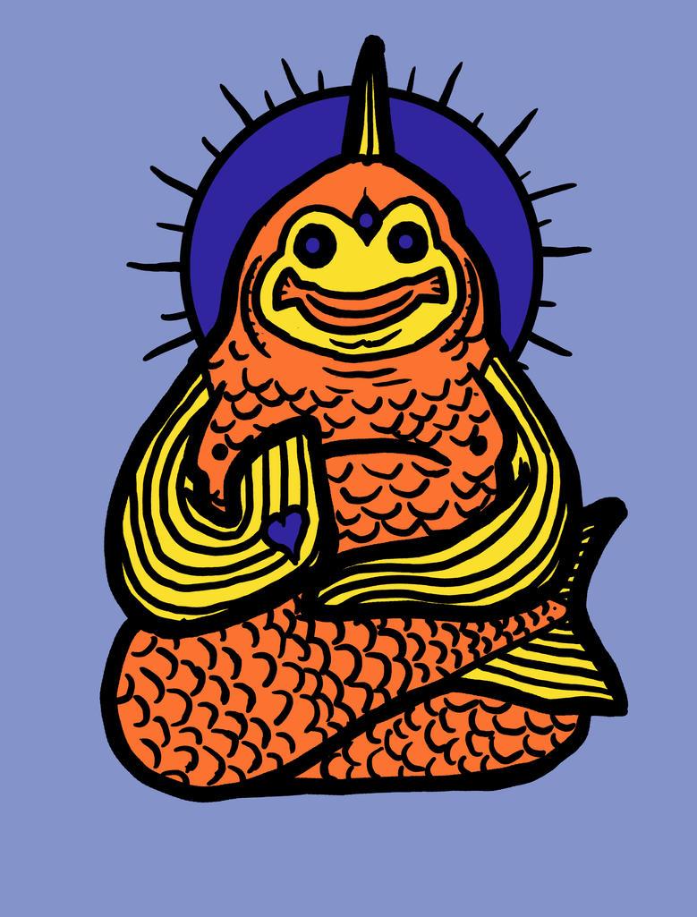 Spirit animal: goldfish by biotwist