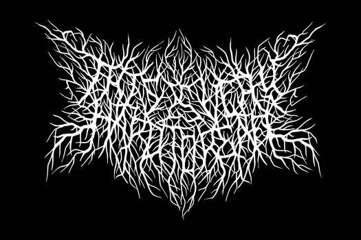 This is Very hard to ready fake Brutal Metal logo