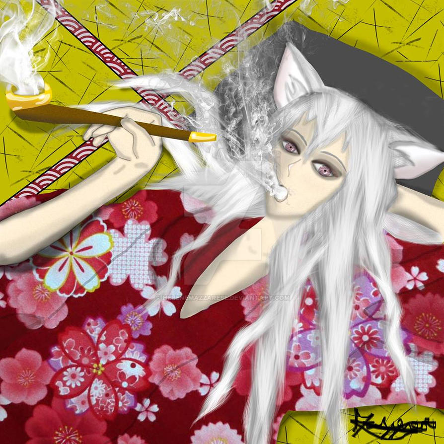 Tomoe by helenemazzarese