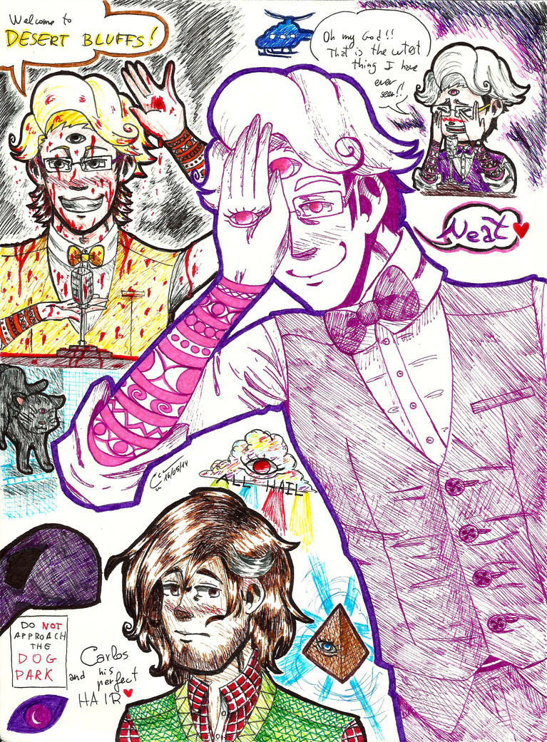 Welcome to Night Vale sketchdump by MrKiwiz46
