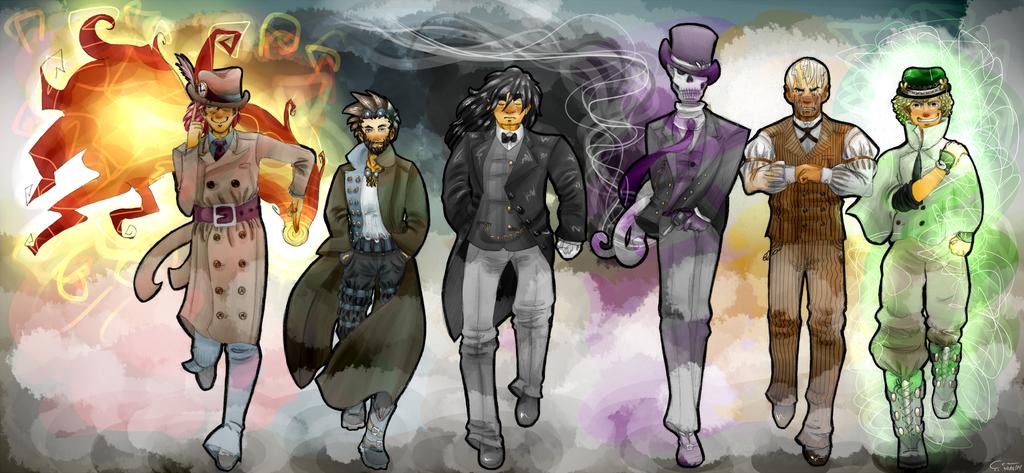 Epic Dead Men by MrKiwiz46