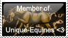 Unique-Equines Stamp by JourneytoRevenge