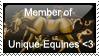 Unique-Equines Stamp by JourneytoRevenge
