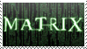 The Matrix Stamp by JourneytoRevenge