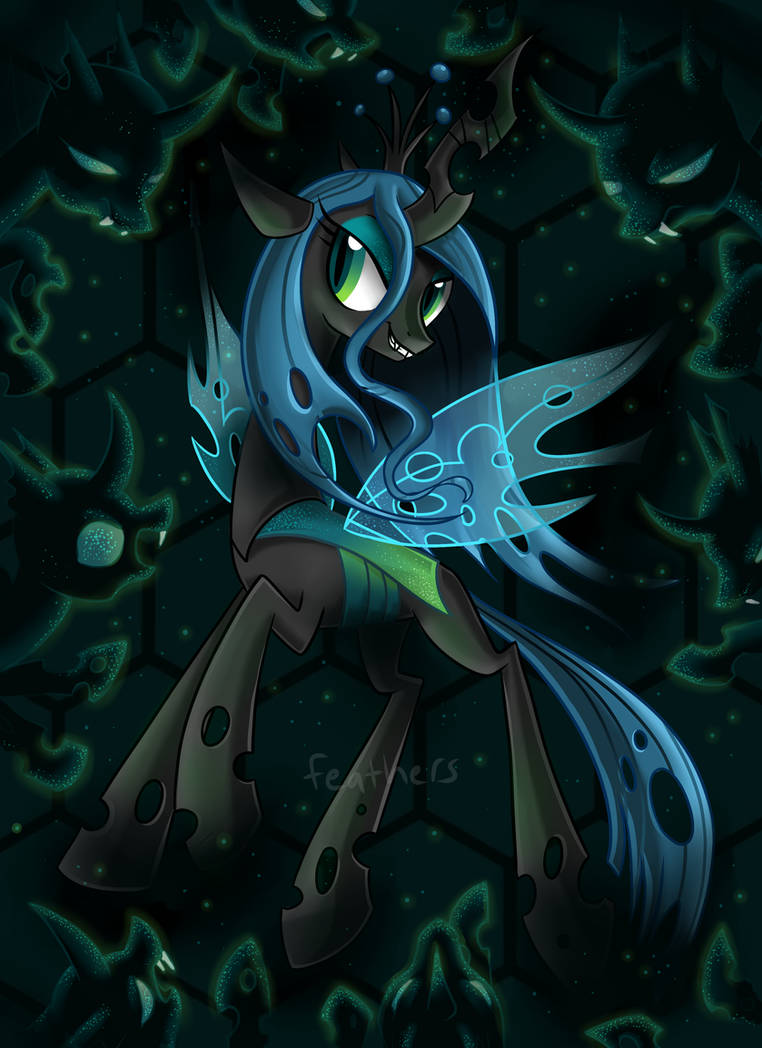 The Glittering Hive by OkapiFeathers