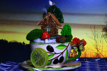 composition evening fabulous story over a cup tea by stalker034