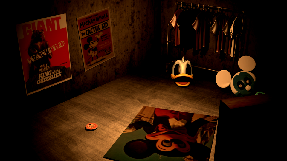 Five Nights At Treasure Island The End Of Disney Game